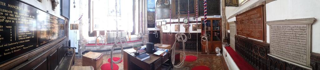 Mancroft Ringing Room Panorama Image